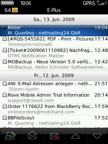 BlackBerry Enterprise Aktivierung