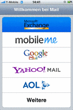 iPhone Exchange Email